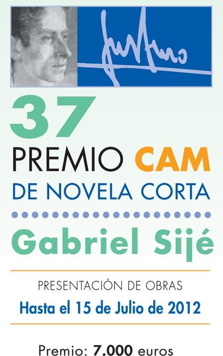 Bases 37 Premio Gabriel Sijé Novela Corta 2012