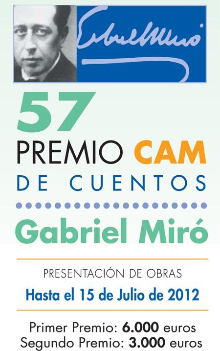 Bases 57 Premio Cuentos Gabriel Miró 2012