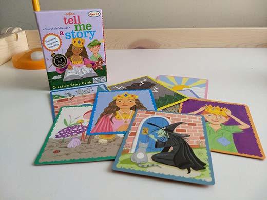 tell me a story juego de cartas narrativo